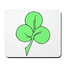 Green Shamrock Mousepad