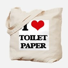 I love Toilet Paper Tote Bag