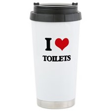 I love Toilets Travel Mug