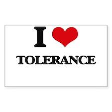 I love Tolerance Decal
