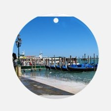 Venetian Day Ornament (Round)