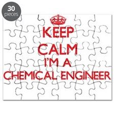 Keep calm I'm a Chemical Engineer Puzzle