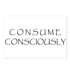 Consume Consciously Postcards (Package of 8)