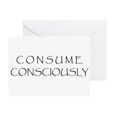 Consume Consciously Greeting Cards (Pk of 10)