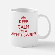 Keep calm I'm a Chimney Sweeper Mugs