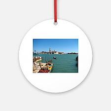 To Venice Ornament (Round)