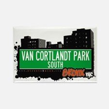 Van Cortlandt Park South, Bronx, NYC Rectangle Ma