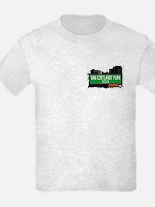 Van Cortlandt Park South, Bronx, NYC  T-Shirt