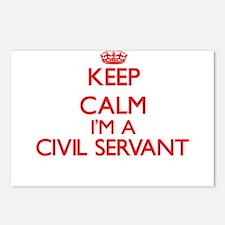 Keep calm I'm a Civil Ser Postcards (Package of 8)