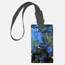 Monet's Water Lilies 1914-1917 Luggage Tag