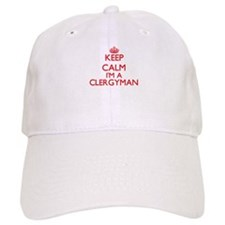 Keep calm I'm a Clergyman Cap
