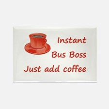 Instant Bus Boss Rectangle Magnet (10 pack)