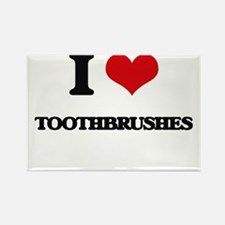 I love Toothbrushes Magnets