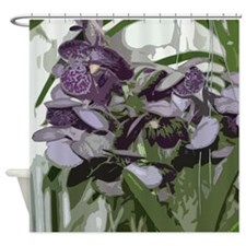 Orchid009 Shower Curtain