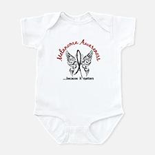 Melanoma Butterfly 6.1 Infant Bodysuit