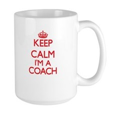 Keep calm I'm a Coach Mugs