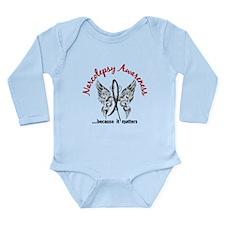 Narcolepsy Butterfly 6 Long Sleeve Infant Bodysuit