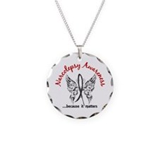 Narcolepsy Butterfly 6.1 Necklace