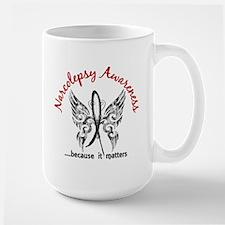 Narcolepsy Butterfly 6.1 Mug