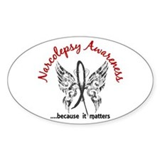 Narcolepsy Butterfly 6.1 Decal