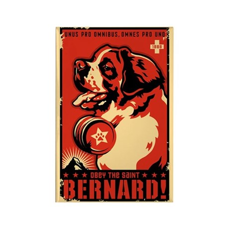 Obey the Saint Bernard! Magnets (10 pack)