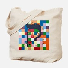 The Kouf Letter Tote Bag