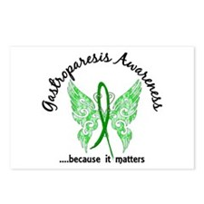 Gastroparesis Butterfly 6 Postcards (Package of 8)