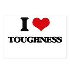 I love Toughness Postcards (Package of 8)
