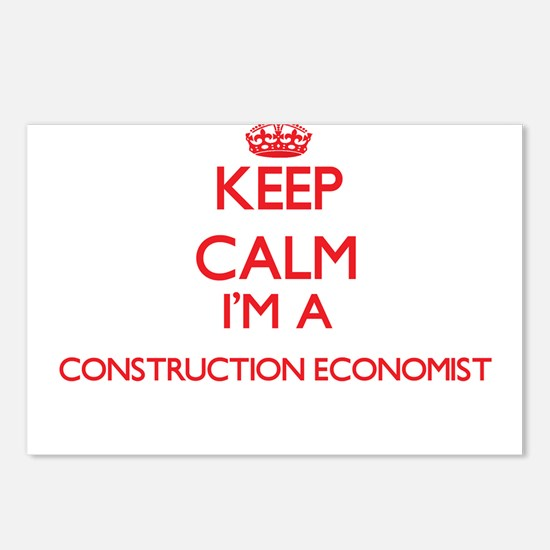 Keep calm I'm a Construct Postcards (Package of 8)