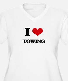 I love Towing Plus Size T-Shirt