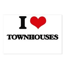 I love Townhouses Postcards (Package of 8)