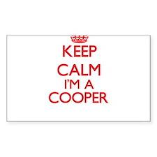 Keep calm I'm a Cooper Decal