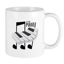 P Is For Piano Mugs