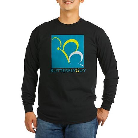 ButterflyGuy Long Sleeve Dark T-Shirt