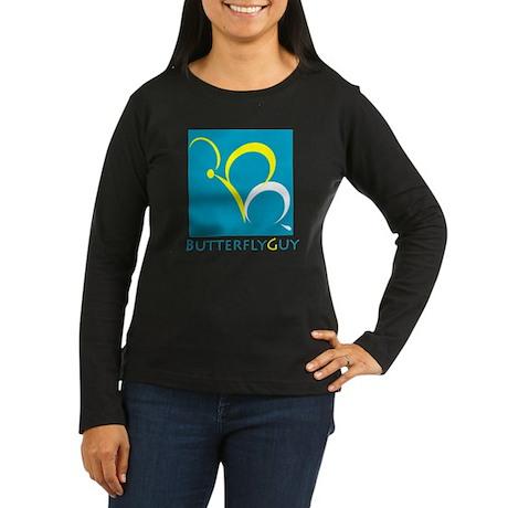 ButterflyGuy Women's Long Sleeve Dark T-Shirt