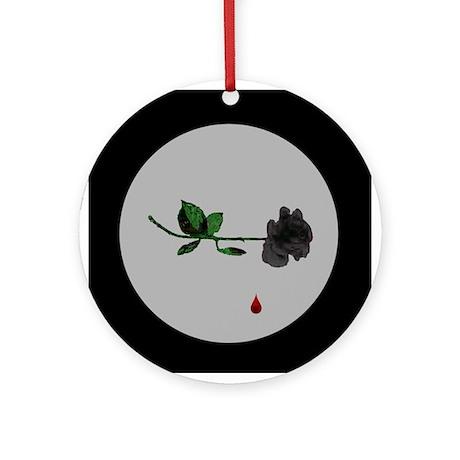 Gothique Rose Ornament (Round)
