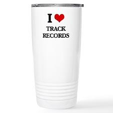 I love Track Records Travel Mug