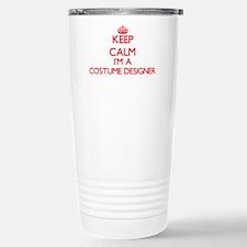 Keep calm I'm a Costume Travel Mug