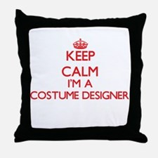 Keep calm I'm a Costume Designer Throw Pillow