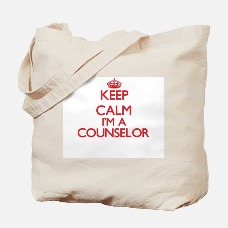 Keep calm I'm a Counselor Tote Bag
