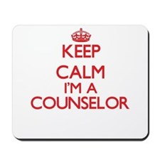 Keep calm I'm a Counselor Mousepad