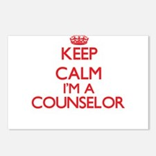 Keep calm I'm a Counselor Postcards (Package of 8)