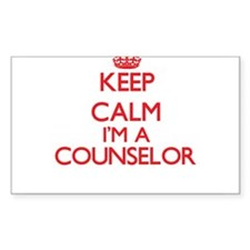 Keep calm I'm a Counselor Decal