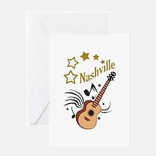 NASHVILLE MUSIC Greeting Cards