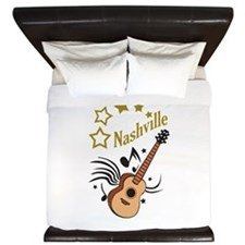 NASHVILLE MUSIC King Duvet