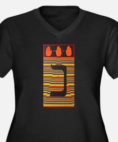 The Noun Letter Plus Size T-Shirt