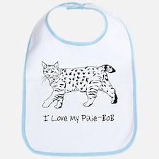 Love My Pixie-Bob Bib