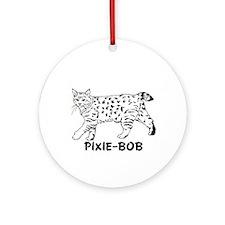 Pixie-Bob Ornament (Round)