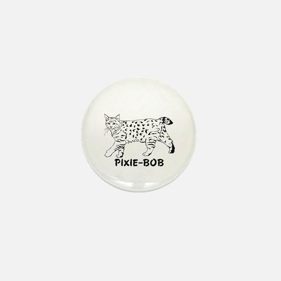 Pixie-Bob Mini Button