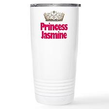 Cute Jasmine Travel Mug